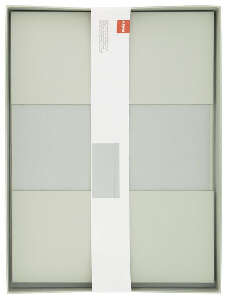 opbergdoos - A3 - karton - mint - 39890054 - HEMA