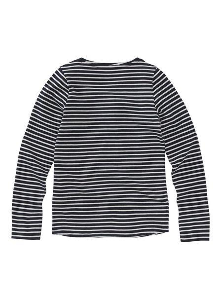 2-pak kinder t-shirts donkerblauw donkerblauw - 1000008833 - HEMA