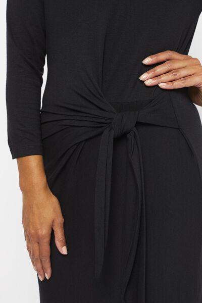 dames jurk zwart zwart - 1000021652 - HEMA
