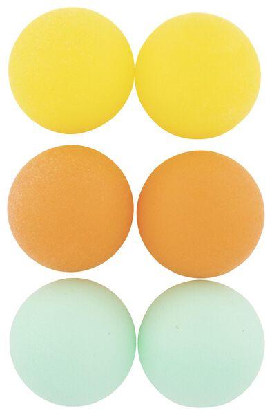 tafeltennisballen - 6 stuks - 15810089 - HEMA