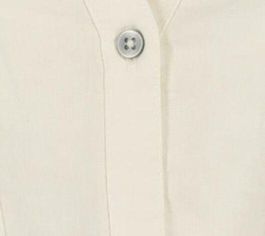 damesblouse met linnen wit XL - 36282034 - HEMA