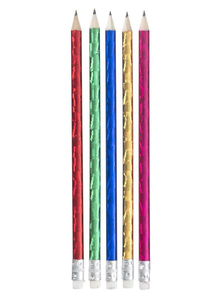 5-pak potloden - 15990301 - HEMA