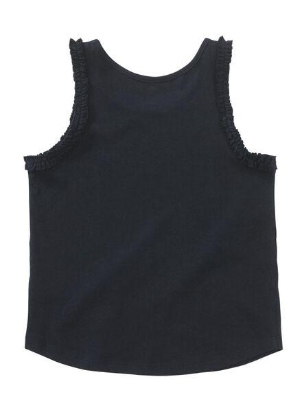 kinder singlet donkerblauw donkerblauw - 1000013073 - HEMA