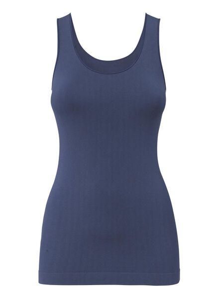 dameshemd blauw blauw - 1000002080 - HEMA