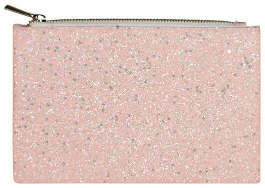etui roze glitters - 14502262 - HEMA