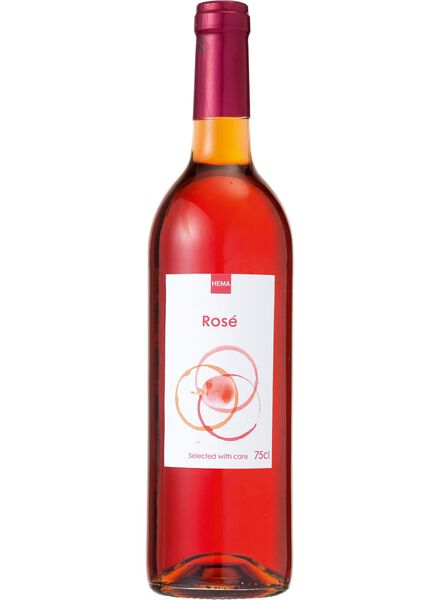 huiswijn rosé - 0,75 L - 17380401 - HEMA