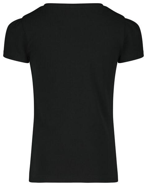 kinder t-shirt zwart 86/92 - 30843950 - HEMA