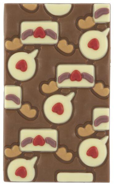 melkchocolade tablet liefdesbrief - 10050056 - HEMA