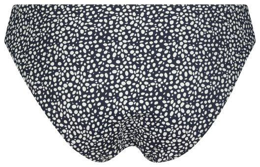 dames bikinibroekje recycled - animal donkerblauw donkerblauw - 1000023164 - HEMA