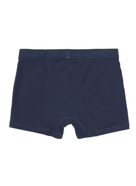 2-pak RLC long boxer middenblauw middenblauw - 1000001061 - HEMA
