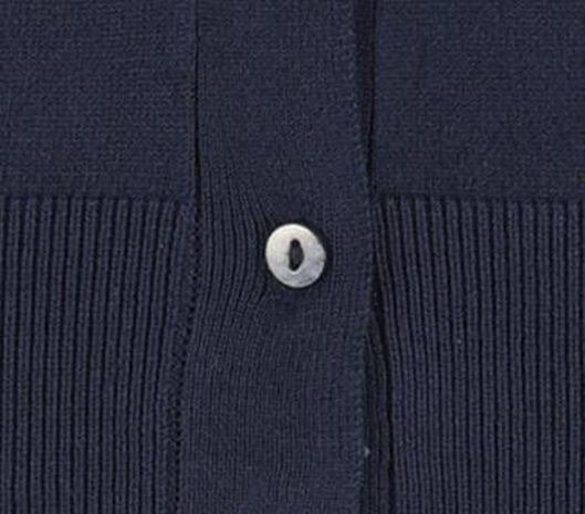 damesvest donkerblauw donkerblauw - 1000019472 - HEMA