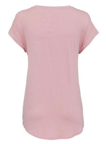 dames nacht t-shirt roze - 1000002890 - HEMA