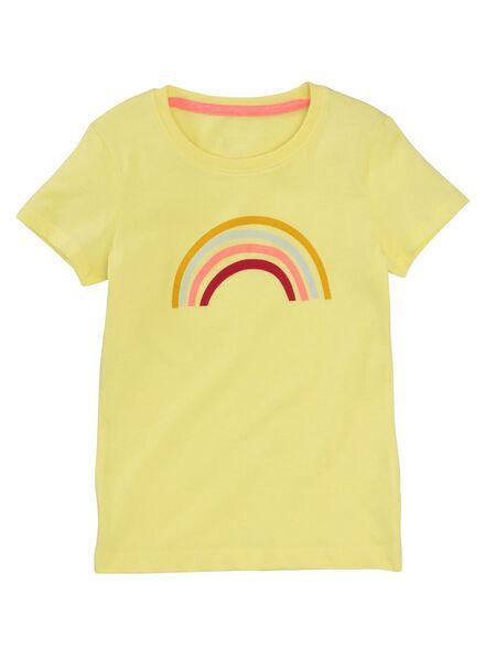 kinder shortama geel geel - 1000012425 - HEMA