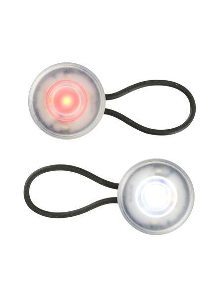 2-pak LED fietslampjes - 41198087 - HEMA