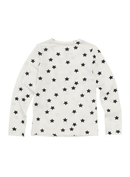 kinder t-shirt gebroken wit gebroken wit - 1000010990 - HEMA