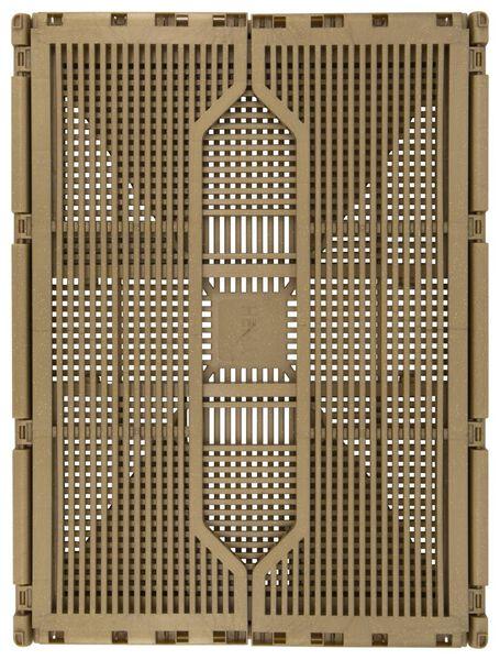 klapkrat letterbord recycled 30x40x17 goud - 25140050 - HEMA