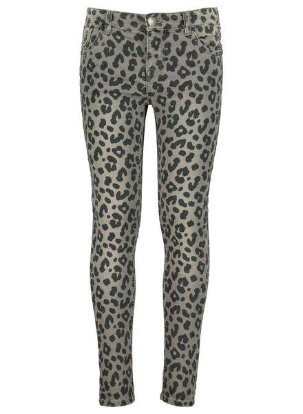 kinder skinny jeans grijs grijs - 1000013572 - HEMA