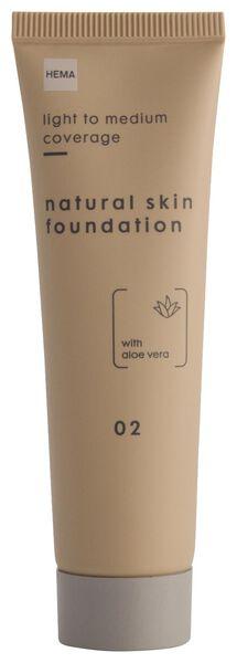 foundation natural skin 02 - 11290322 - HEMA