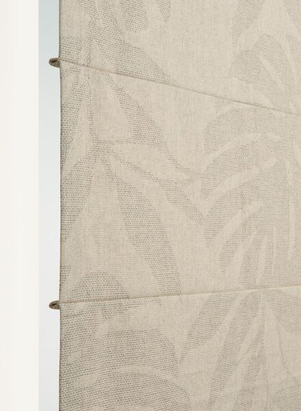 vouwgordijn lisse blad - 7406949 - HEMA
