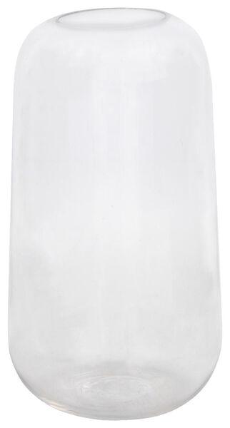 vaas Ø7.5x15 glas - 13311060 - HEMA