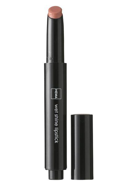 wetshine lippenstift beaming brown - 11231401 - HEMA