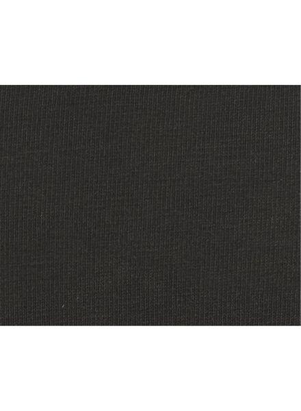 damesstring second skin katoen zwart zwart - 1000006558 - HEMA
