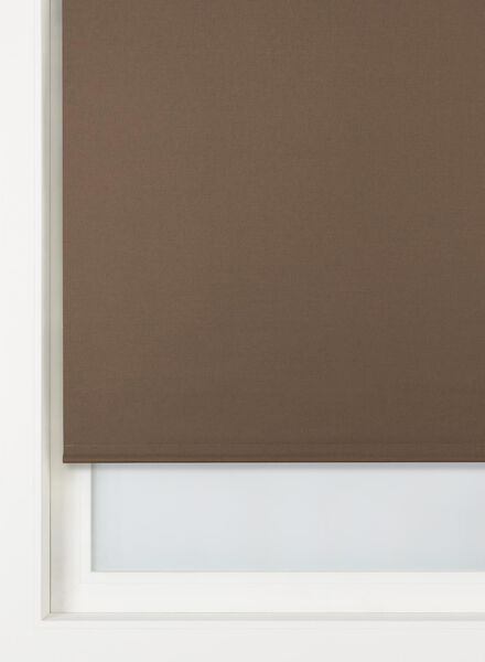 rolgordijn uni verduisterend/gekleurde achterzijde grijs uni verduisterend/gekleurde achterzijde - 7410362 - HEMA