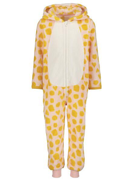 kinder onesie giraf lichtroze lichtroze - 1000014624 - HEMA