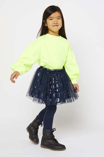 kinderrok donkerblauw - 1000022436 - HEMA