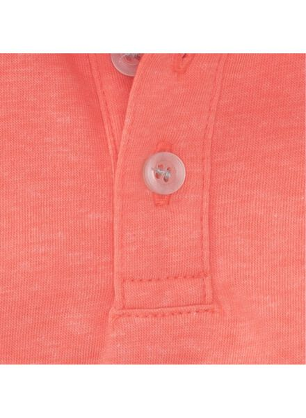 baby polo oranje oranje - 1000007280 - HEMA