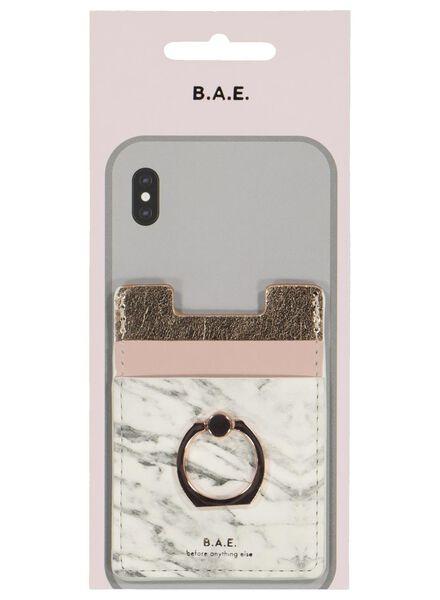 B.A.E. pashouder voor telefoon met ring 9 x 6.5 cm - 39636000 - HEMA