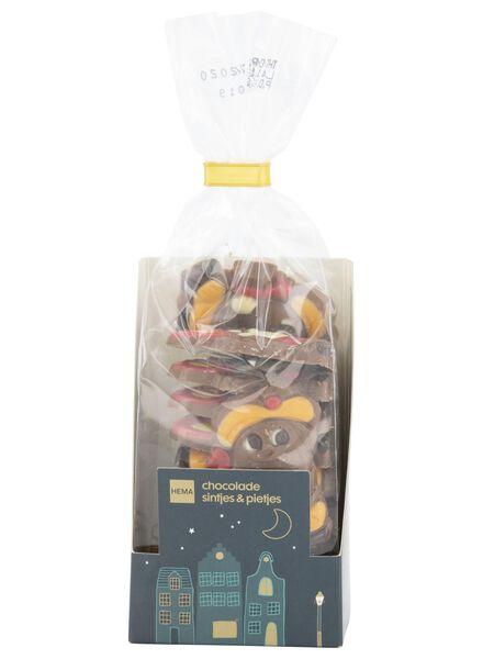chocolade sintjes en pietjes - 180 gram - 10000161 - HEMA