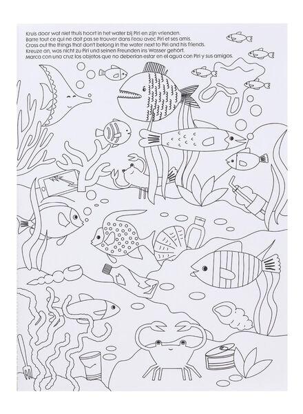 kleur en doe boek - 15990341 - HEMA