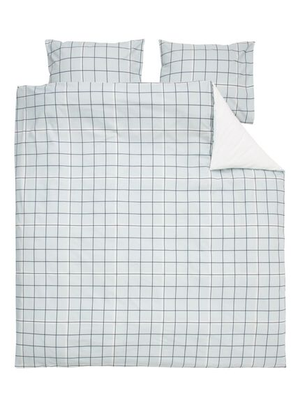 soft cotton dekbedovertrek 200 x 200 cm - 5750023 - HEMA