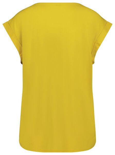 dames top geel M - 36344072 - HEMA