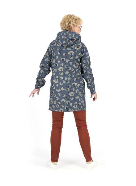 dames regenjas nachtblauw nachtblauw - 1000014743 - HEMA