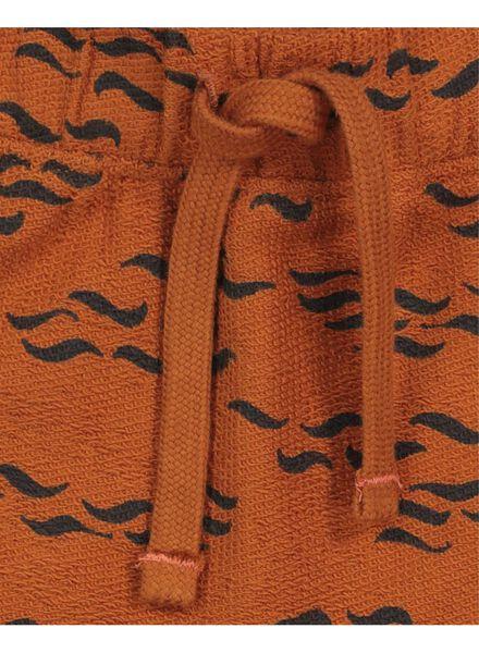 baby sweatbroek bruin bruin - 1000017490 - HEMA