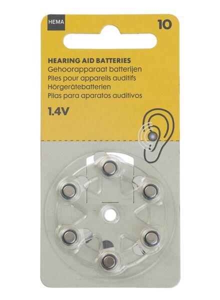 gehoorapparaat batterijen 10 1.4V - 41210513 - HEMA