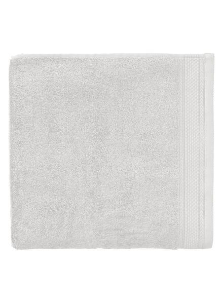 handdoek - 70 x 140 cm - hotel extra zwaar - lichtgrijs uni - 5240200 - HEMA