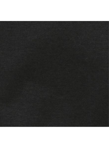 rompers bamboe stretch - 2 stuks zwart/wit zwart/wit - 1000011707 - HEMA