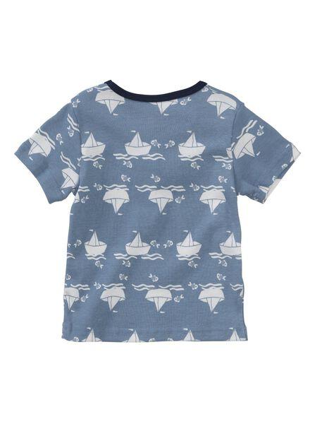 2-pak babyshortama's blauw blauw - 1000005327 - HEMA
