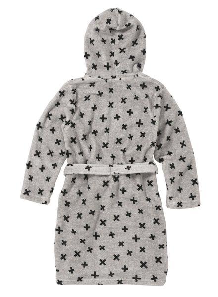 kinderbadjas grijsmelange grijsmelange - 1000009050 - HEMA