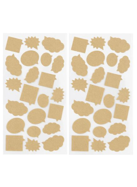 2-pak stickers - 14670016 - HEMA