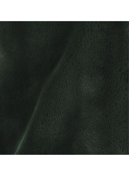 damesjas - imitatiebont donkergroen donkergroen - 1000017062 - HEMA