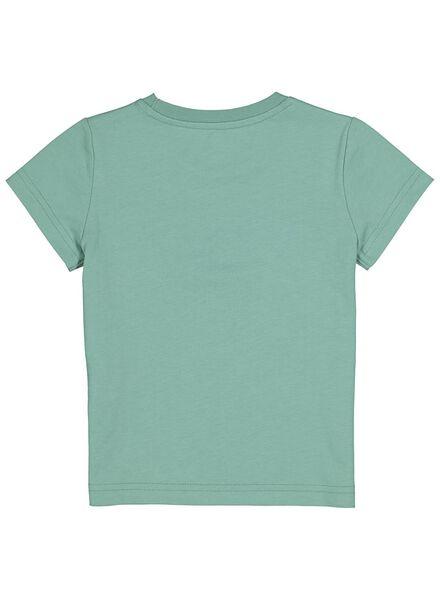 kinder t-shirt groen groen - 1000013651 - HEMA