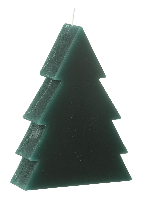HEMA Vormkaars Kerstboom 17.5 X 4.5 X 13 Cm – Groen