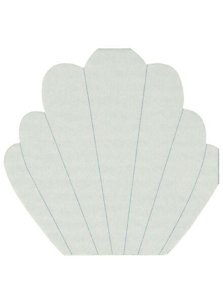 servetten schelp - 31x31 - 12 stuks - 60020052 - HEMA