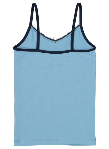 2-pak kinderhemden blauw blauw - 1000016868 - HEMA