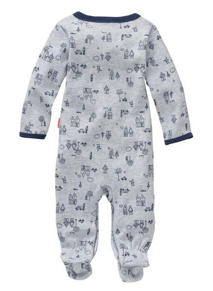 baby jongens jumpsuit blauw blauw - 1000005429 - HEMA