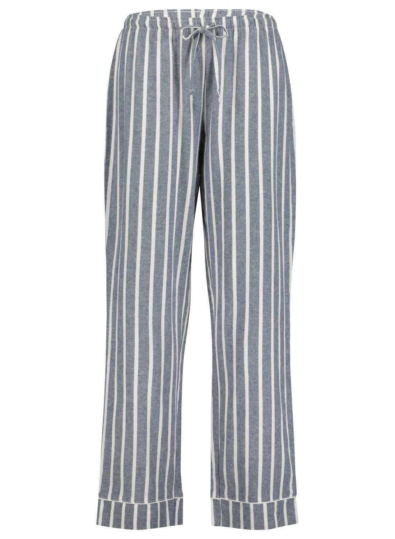 HEMA Dames Pyjamabroek Donkerblauw (donkerblauw)